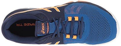 Asics Heren Gel-rage Tr 4 Corsstrainer Schoen Indigo Blauw / Oranje / Imperial
