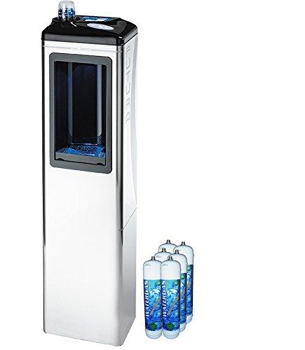 Dispensador Agua columnas dispensador para agua depurata ambiente, refrigerata y gassata para casa y oficina + 6 bombonas co2: Amazon.es: Bricolaje y ...