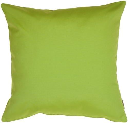 PILLOW D COR Sunbrella Macaw Green 20×20 Outdoor Pillow