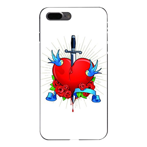 """Disagu Design Case Schutzhülle für Apple iPhone 7 Plus Hülle Cover - Motiv """"Gebrochenes Herz"""""""