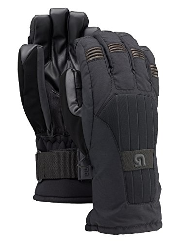 Burton Support Glove Snowboard Ski Gloves True Black Size Medium Removable Wristguard by Burton