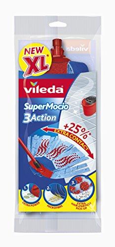 Vileda VIL127917 Supermocio 3 Action Refill [Kitchen & Home]