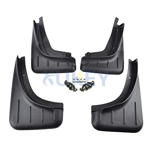 /Parafango anteriore e posteriore 4/pezzi Set Paraspruzzi per modellato Xukey borsa Macan 2014/ /2018/2019/
