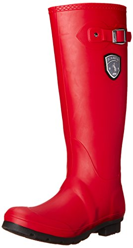 Kamik Women's Jennifer-W Rain Boot, Dark Red, 10 M US