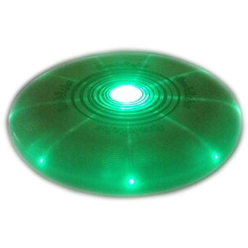 LED Light Up Frisbee, Durable, Very Bright, Sold by GlowCity