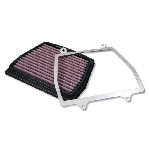 DNA Air Box Filter & Cover S2 for Aprilia Caponord 1200 (13-15) PN:P-AP12SM11-S2: