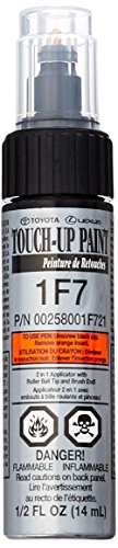 Genuine Toyota 00258-001F7-21 Classic Silver Mica Touch-Up Paint Pen (.44 fl oz, 13 ml)