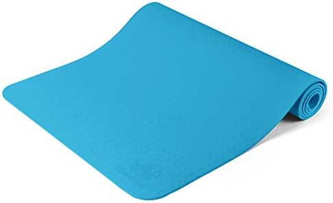 Clever Yoga Premium Mat BetterGrip Eco-Friendly With The Best Recyclable Non-Slip and Durable TPE 6mm or 1/4