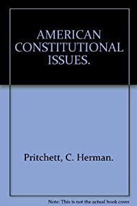 Hardcover American constitutional issues (McGraw-Hill series in political science) Book