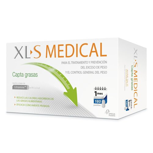XLS Medical Fat Binder (180 Tablets) by XLS Medical Fat Binder 180 Tablets