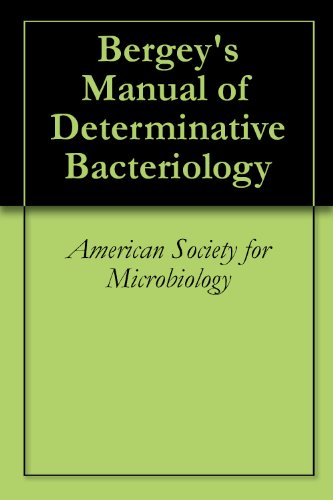 bergey s manual of determinative bacteriology american society for rh amazon com bergey's manual of determinative bacteriology pdf bergey's manual of determinative bacteriology 9th edition reference