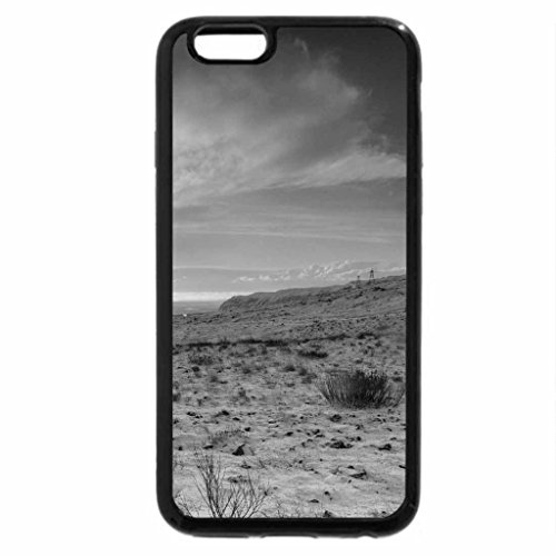 iPhone 6S Plus Case, iPhone 6 Plus Case (Black & White) - a sign post in the middle of nowhere in iceland
