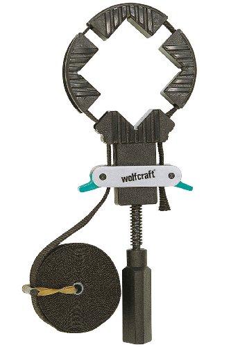 Wolfcraft 3416000 Rahmen-Bandspanner mit 4 Spannbacken 4 m