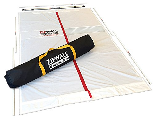 ZipWall Magnetic Dust Barrier Door Kit, MDK