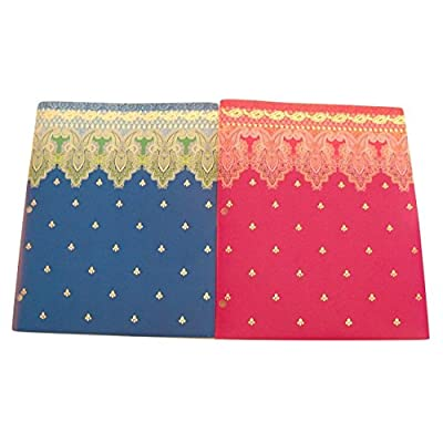 Studio C Carolina Pad Set of 2 Poly Folders ~ Taj Mahal (Violet, Pink and More; Blue, Green and More): Toys & Games
