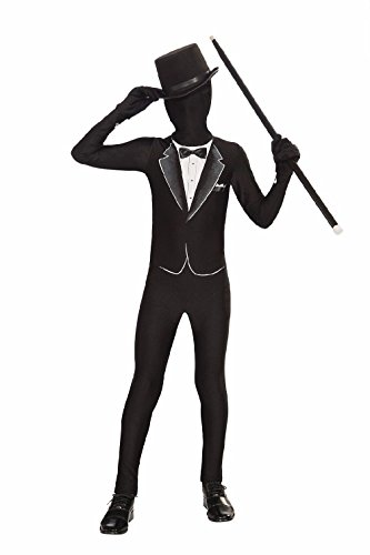 Skin Suit Stretch Invisible Formal Suit Jumpsuit Unisex Child Boys Girls Costume (Adult Steampunk Girl Sexy Costume)