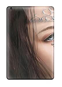 New Fashion Premium Tpu Case Cover For Ipad Mini/mini 2 - The Princess Fantasy Women Abstract Fantasy