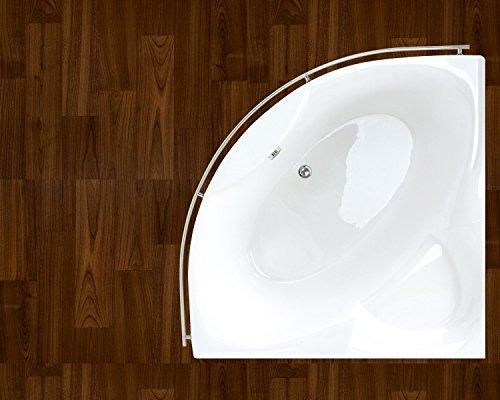 Aquatica purescape 314 corner acrylic bathtub hardware for Non standard bathtubs