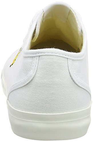 Lyle & Scott Mens T-trainers, Blauw Wit