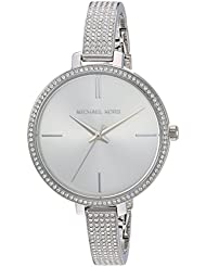 Michael Kors Womens Jaryn Quartz Stainless Steel Casual Watch, Color:Silver-Toned (Model: MK3783)
