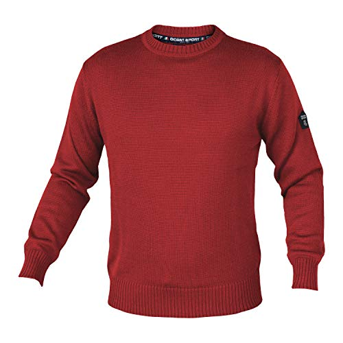 Sport Ocean Girogola Uomo In 3989 Made Italy Art Canberry Maglione Lana Merino 3989p 9DH2IeWEY