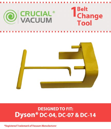 Crucial Vacuum Dyson DC04 DC07 DC14 Vacuum Belt Tool for Dyson Vacuum DC07, DC04 and DC14, Compare to Dyson Part No.10-10000-08