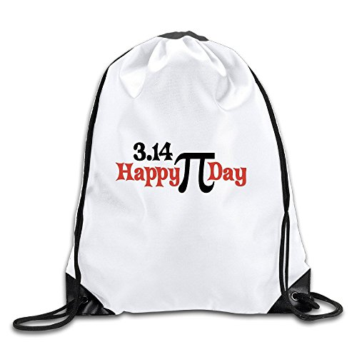 Runy Custom Happy Pi Day Adjustable String Gym Backpack (Louis Vuitton Bag Costume)
