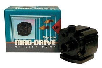 (Danner Supreme Aqua-Mag Magnetic Drive Water Pump 700 GPH)