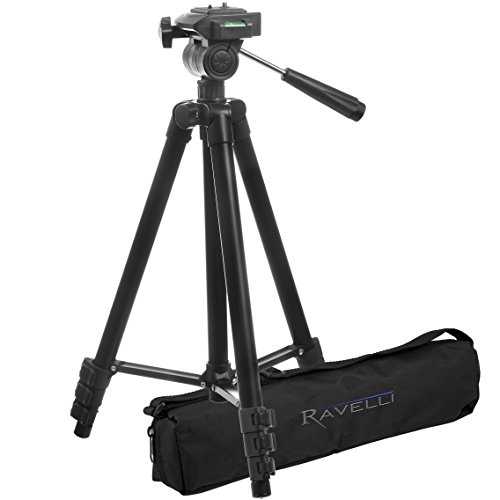 Ravelli APLT2 50″ Light Weight Aluminum Tripod with Bag