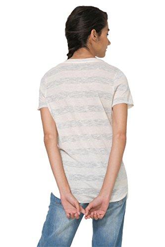Desigual Tee-shirt Anoia Blanc 73t2wh6
