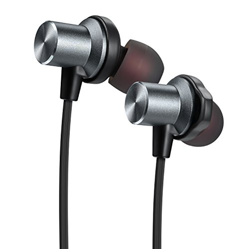 bluetooth earbuds tesson wireless v4 1 magnetic headphones super bass stereo noise cancelling. Black Bedroom Furniture Sets. Home Design Ideas