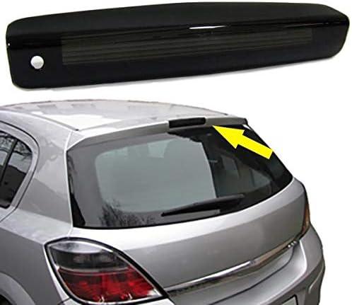 Carparts Online 16047 3 Bremsleuchte Abdeckung Klarglas Schwarz Smoked Auto