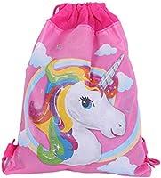 5pcs Cartoon children birthday party non-woven bag baby