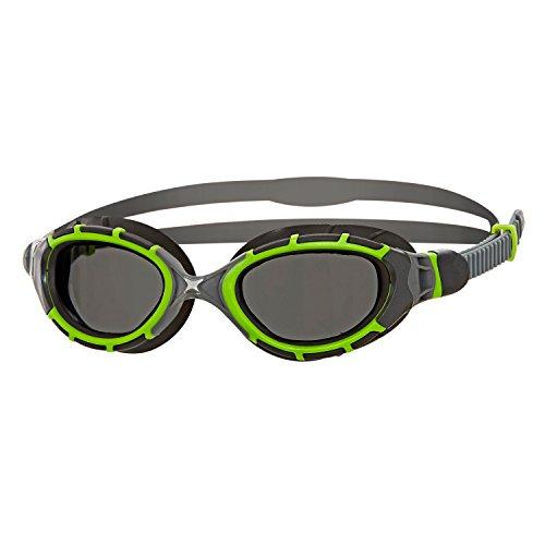 - Zoggs Unisex Predator Flex 2.0 Titanium Reactor Swimming Goggles With Anti-fog