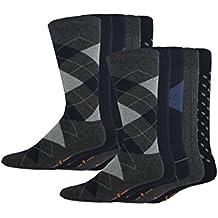 Dockers Men's Classics Dress Argyle Crew Socks, 10 Pair