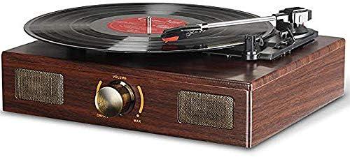 Antique Gramophone Turntable Vinyl Record Player Turntable w