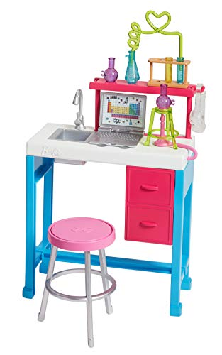 Barbie Science Lab Playset (Barbie Computer)