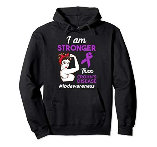 Crohns Disease IBD Awareness Pullover Hoodie ()