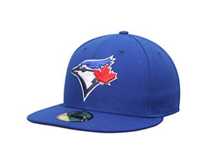 Toronto Blue Jays Game Youth AC On Field 59Fifty Fitted Cap Size 63/8