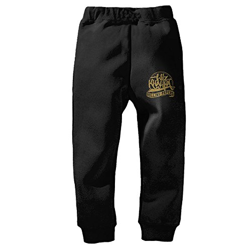 Heowhf Fashionable Wiz Khalifa Rolling Papers Taylor Gang Child Sweatpants Pants Drawstring