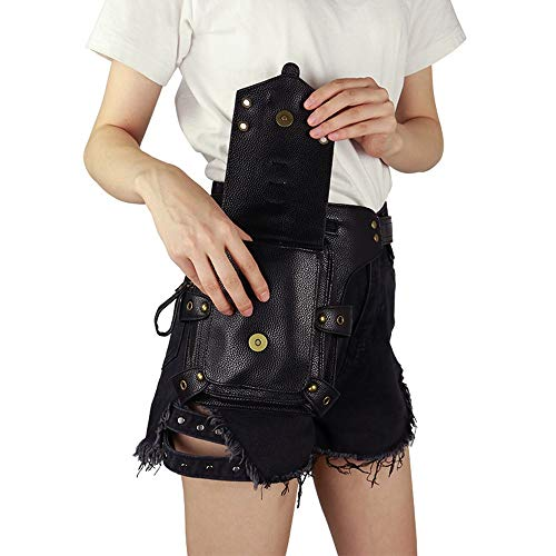 YANGLIYU Vintage Steampunk Bag, Steampunk Waist Pack, Steampunk Waist Bag, Christmas/Halloween Accessories/Travel/Rock Climbing Men's/Men's Pocket Bag]()