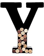 Wine Cork Holder – Metal Monogram Letters