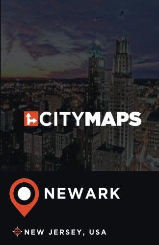City Maps Newark New Jersey, USA