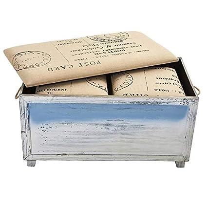 Amazon Com Wooden Storage Bench Storage Bench With Lightly Tan