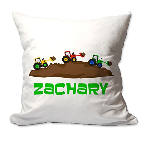 Personalized Construction Zone Throw (Construction Zone Throw Pillow)