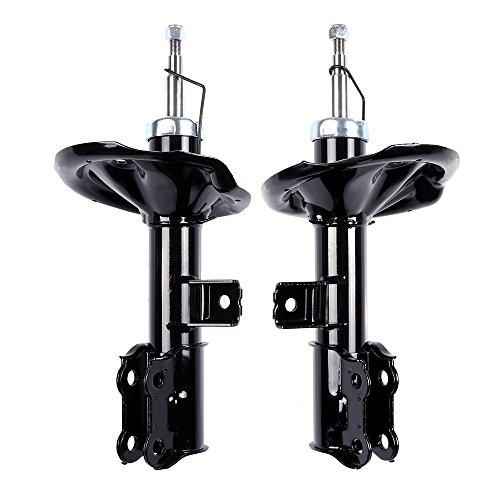 ECCPP Shocks Struts, Front Pair Shock Absorbers Strut Kits Compatible with 2009 2010 Kia Forte,2010 2011 2012 2013 Kia Forte Koup 338026 - Springs Kia Forte