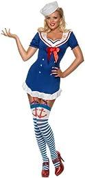 Womenu0027s Ahoy Sailor Dress  sc 1 st  Amazon.com & Amazon.com: 1940s - Costumes u0026 Accessories: Clothing Shoes u0026 Jewelry