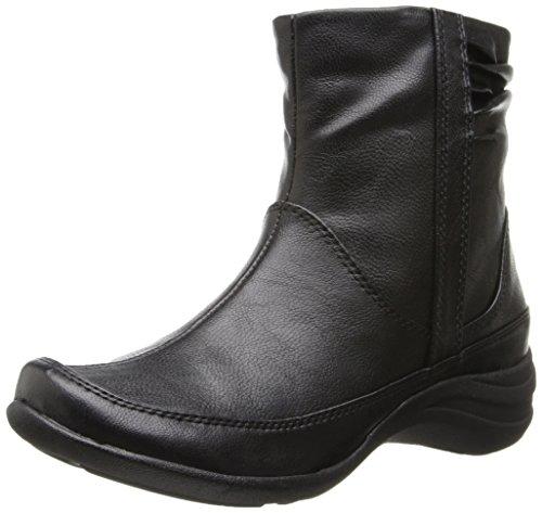 Hush Chiots Femmes Alternative Cheville Boot Noir Pu