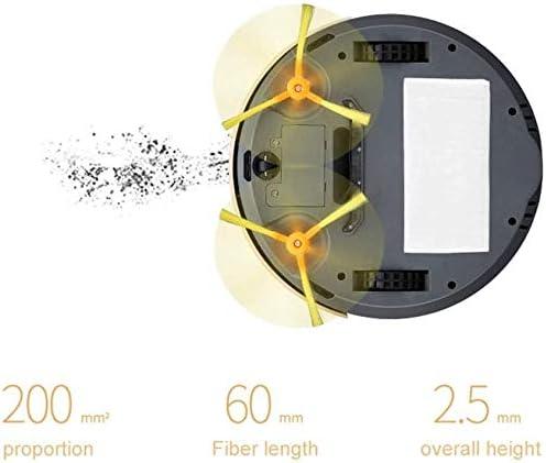 MYXMY Aspirateur Domestique/Smart Sweeper, 1000Pa Grande Aspiration, Humide remorquage Essuyez Smart Collision Mur, 450ml de Grande capacité, Anti-Chute du capteur (d\'or)