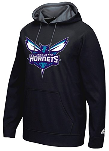 fan products of NBA Charlotte Hornets Men's Tip-Off Playbook Hoodie, Large, Black